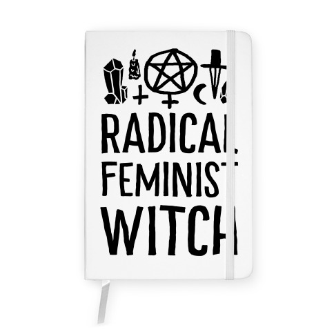 Radical Feminist Witch Notebook