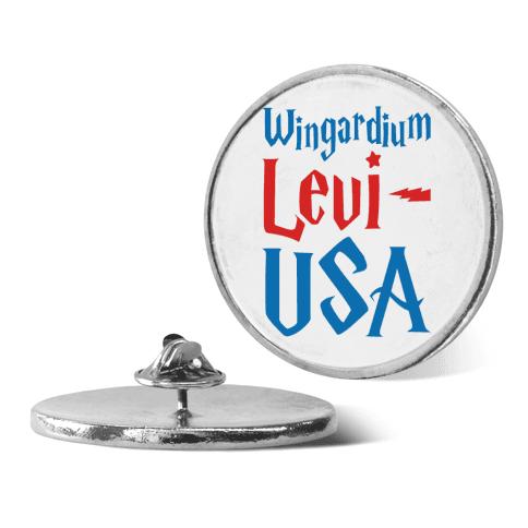 Wingardium Levi-USA pin