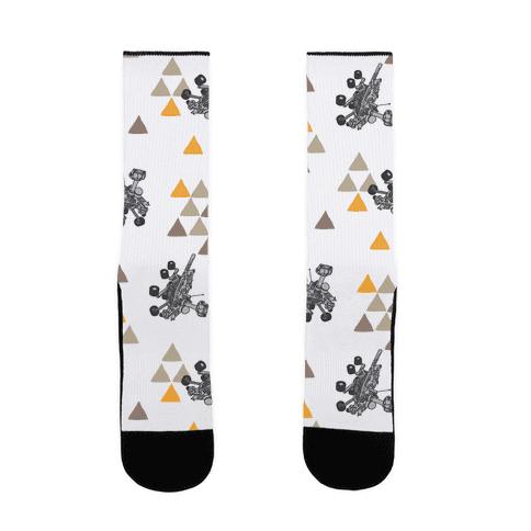 Wandering Mars Rover Sock