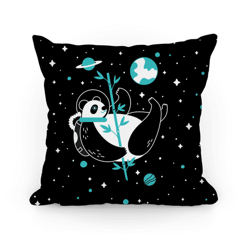 Space Panda Pillow
