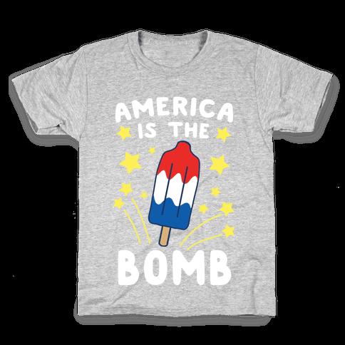 America is the Bomb - Pop Kids T-Shirt