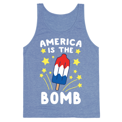 America is the Bomb - Pop Tank Top