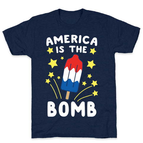 America is the Bomb - Pop Mens T-Shirt