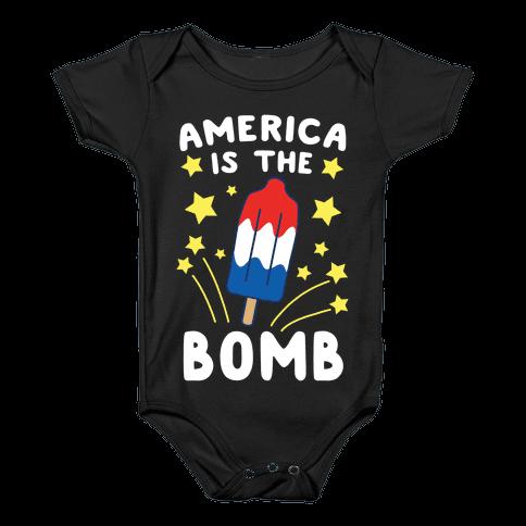 America is the Bomb - Pop Baby Onesy