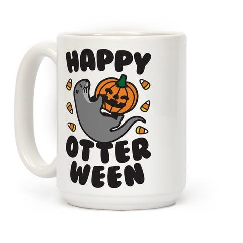 Happy Otterween Coffee Mug