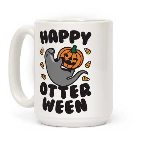 Happy Otterween Coffee Mug