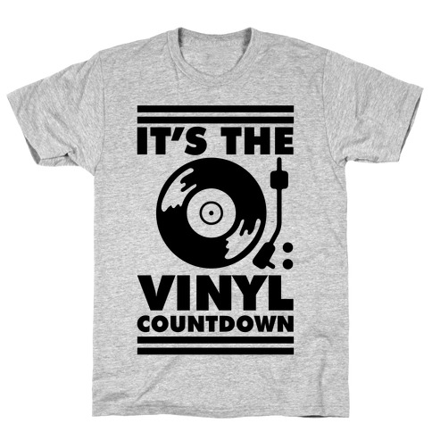 It's the VINYL countdown T-Shirt
