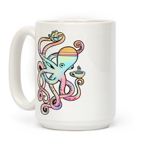Tea Shanty Kraken Coffee Mug