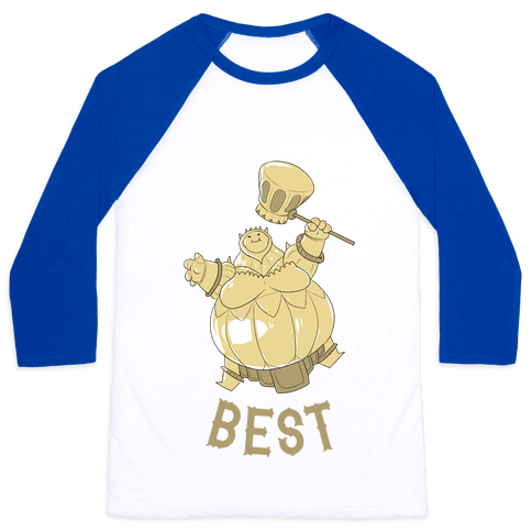 Best Friends Smough Baseball Tee