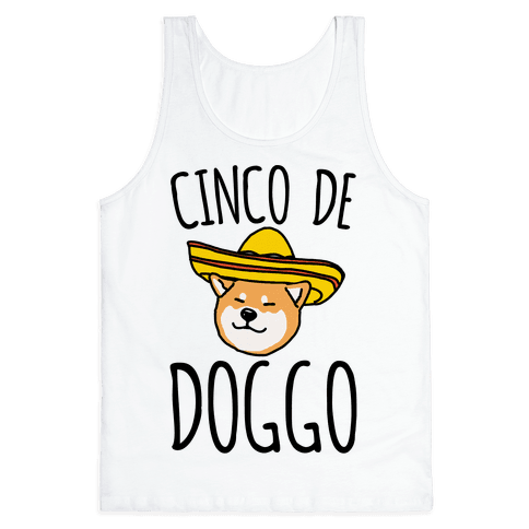 Cinco De Doggo Tank Top