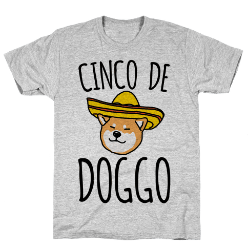 Cinco De Doggo Mens T-Shirt
