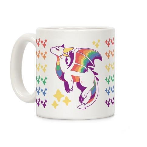 Gay Pride Dragon Coffee Mug