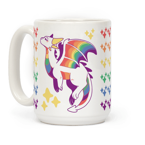 Gay Pride Dragon Coffee Mug