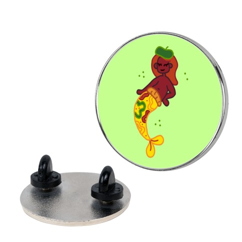 Seapreme Pizza Mermaid Pin