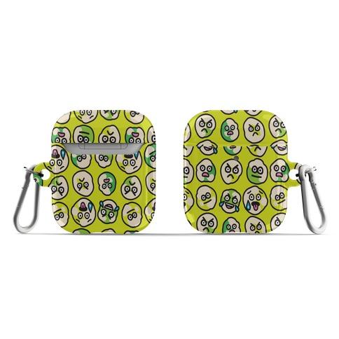 Wasabi Peas Pattern AirPod Case