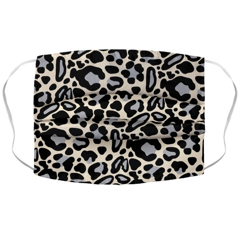 Leopard Print Pattern Accordion Face Mask
