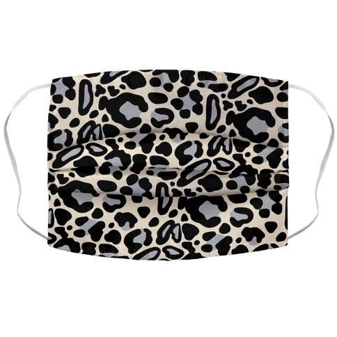 Leopard Print Pattern Accordion Face Mask