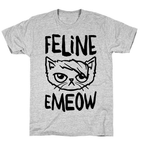 Feline Emeow T-Shirt