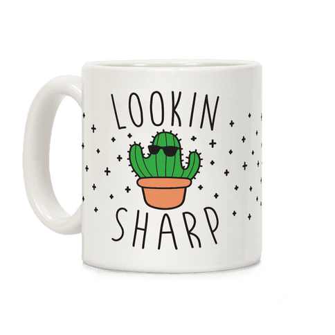 Lookin Sharp Coffee Mug
