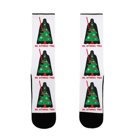 Oh, Sithmas Tree Sock