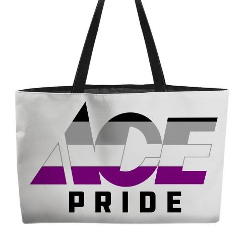 Ace Pride Parody Logo Weekender Tote