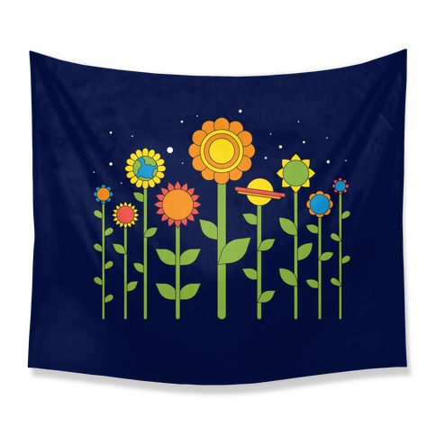 Plant Planets Tapestry