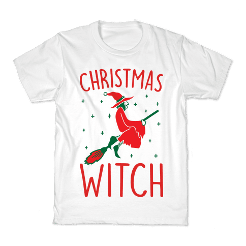 Christmas Witch Kids T-Shirt