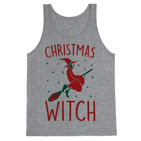 Christmas Witch Tank Top