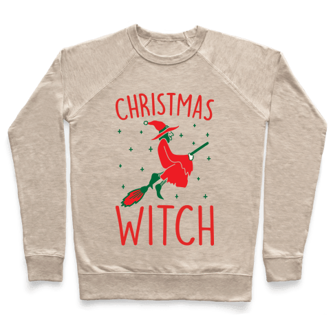 Christmas Witch Pullover