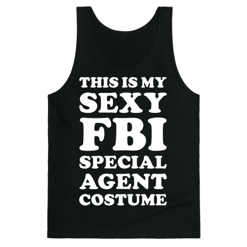 Sexy FBI Special Agent Tank Top