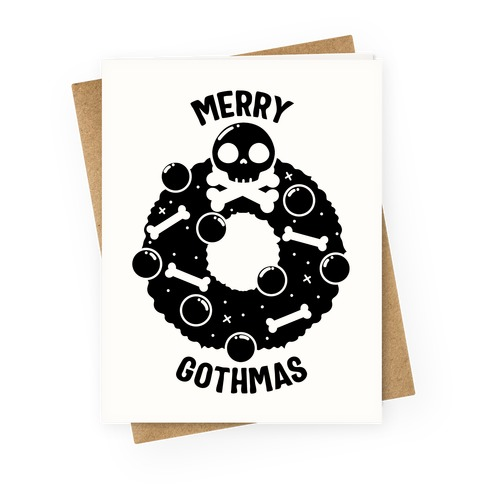 Merry Gothmas Greeting Card