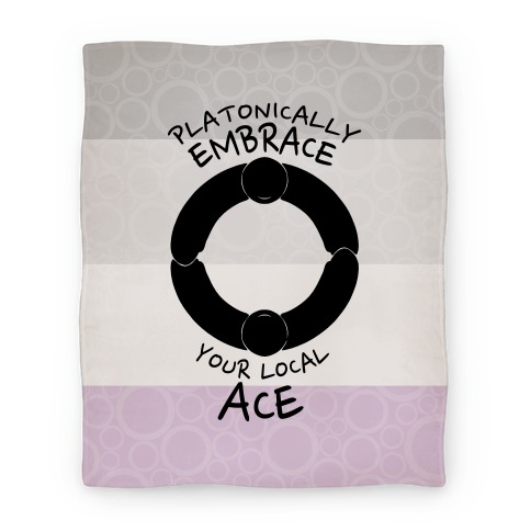 Platonically Embrace Your Local Ace Blanket