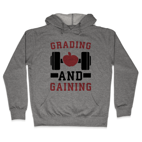 Grading and Gaining Hooded Sweatshirt