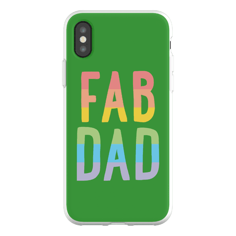Fab Dad Phone Flexi-Case