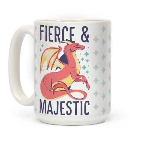 Fierce and Majestic - Dragon Coffee Mug