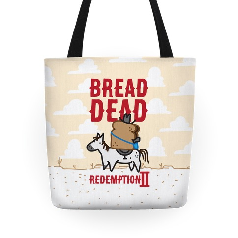 Bread Dead Redemption 2 Tote