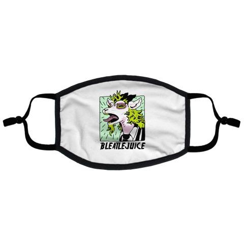 Bleatlejuice Flat Face Mask