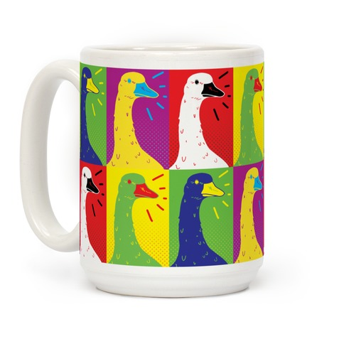 Goose Pop Art Coffee Mug