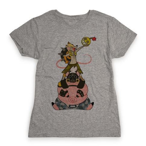 Our Names Are Junkrat and Roadhog! Womens T-Shirt