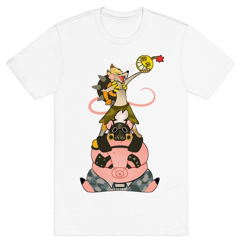 Our Names Are Junkrat and Roadhog! T-Shirt