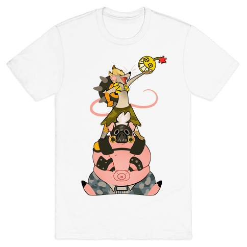 Our Names Are Junkrat and Roadhog! Mens T-Shirt