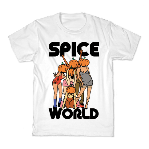 Spice World Pumpkin Spice Kids T-Shirt