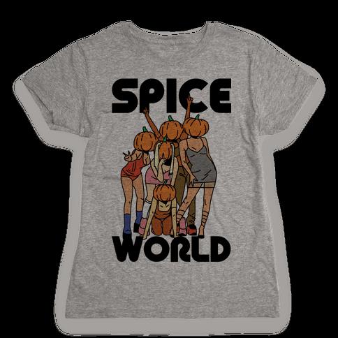 Spice World Pumpkin Spice Womens T-Shirt