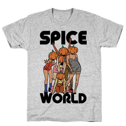 Spice World Pumpkin Spice Mens T-Shirt