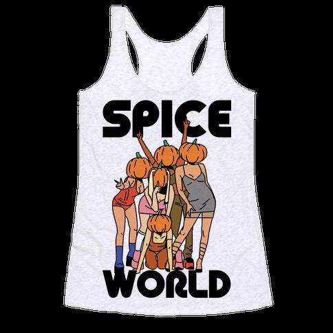 Spice World Pumpkin Spice Racerback Tank Top
