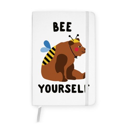 Bee Yourself Bear Notebook