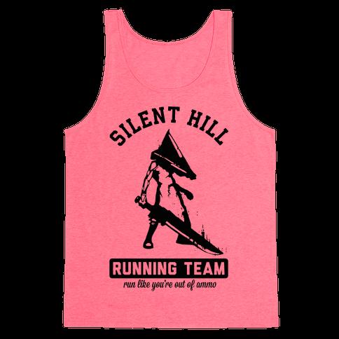 Silent Hill Running Team Tank Top
