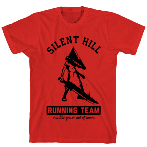 Silent Hill Running Team Mens T-Shirt