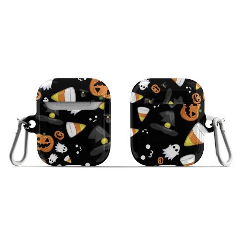 Spoopy Halloween Pattern AirPod Case