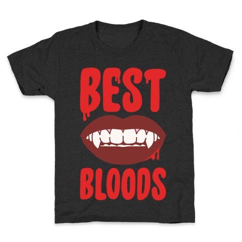 Best Bloods Pairs Shirt White Print Kids T-Shirt